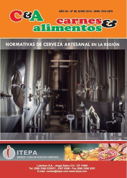 Revista Carnes & Alimentos del mes de Junio de 2019