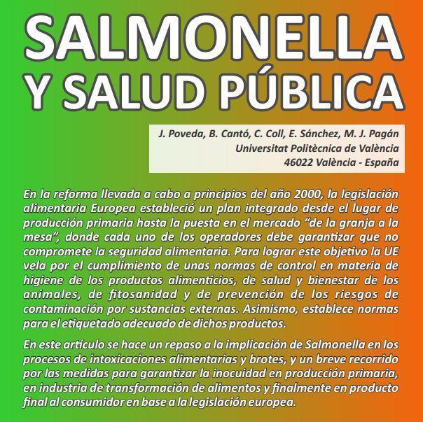Salmonela y salud pública
