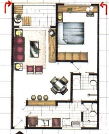 planta de casa pequena 4
