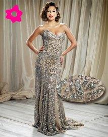 vestido de festa bordado 1
