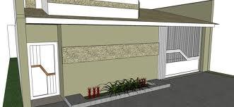fachada de muro moderno 6