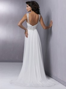 vestido de noiva fino 5