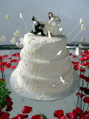 bolo de casamento decorado 6