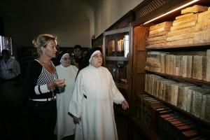 Biblioteca del Monasterio de la Inmaculada Concepción de Loeches, Madrid