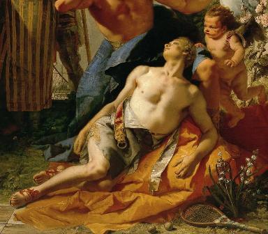 Giambattista Tiepolo,Thyssen, exposición LÁGRIMAS DE EROS