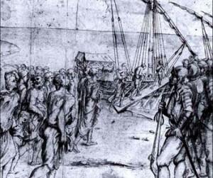 La expulsión de los moriscos. Carducho. Museo del Prado. Madrid