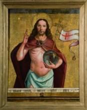 Pedro Berruguete, El Salvador bendiciendo. Museo Diocesano Palencia