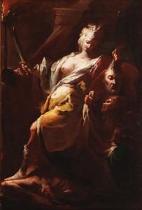 Francesco Conti, Judith y Holofernes, Museo Cerralbo