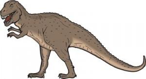 Tirannosaurur rex Museo Geominero
