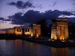 Templo de Debot Madrid