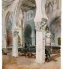 La antigua Sinagoga, Museo Sefardí. Toledo