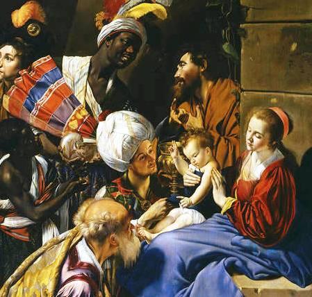 Adoración Museo Del Prado. Maíno-p