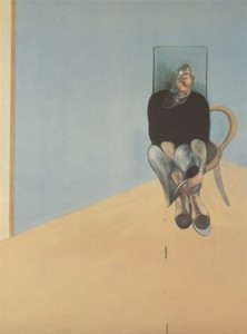 1-Bacon, Study for Self Portrait 1982, 1984, litografía offset. Marlborough