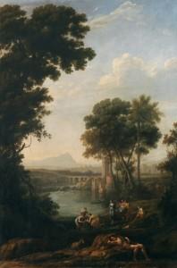 4. Moisés salvado de las aguas, Lorena-Museo del Prado