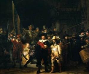 LaRondaDeNoche-Rembrandt-Rijksmuseum