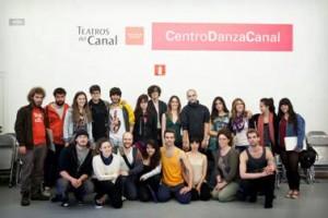 Los alumnos de Bellas Artes de la Universidad Complutense de Madrid dibujan cada semana a las compañías residentes del Centro Danza Canal