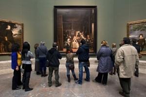 Prado-Visitantes-Meninas-Velazquez