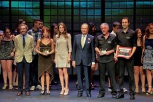 La Princesa de Asturias ha querido mostrar su apoyo a este certamen, que cumple 10 años, dirigido a jóvenes amantes del teatro