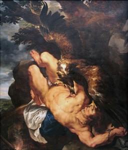 Propiedad del Philadelphia Museum of Art, Prometeo encadenado, obra de Rubens y Snyders