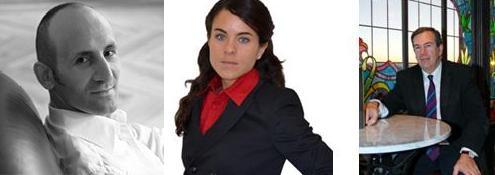 Modesto Lomba, Carolina Eyzaguirre Vilanova, Pedro Pérez Castro