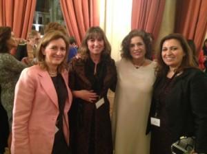 Virginia Bauzá, Ana Botella, Marta del Campo y Maya Al-Hajj Lattouf