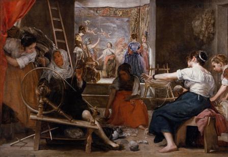 Las hilanderas Velázquez