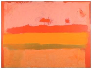 Lote 654: ESTEBAN VICENTE Turégano, Segovia, 1903-Bridgehampton (Long Island)., 2001 LONG ISLAND Oleo sobre lienzo de 90 x 120 cm. Al dorso, firmado, fechado en 1981 y titulado. Al dorso, etiquetas del Museo  de Arte Heckscher de Nueva York y de la Galería Hackett Freedman de San Francisco.