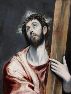 El Greco - Cristo con la cruz 2