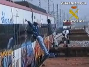 Graffiti-GuradiaCivil