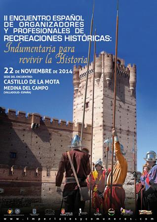 Cartel Jornadas Recreaciones Medina del Campo 2014