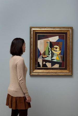 """Malaga, 150129-Exposicion """"Movimientos y secuencias. Coleccion"""". Museo Picasso Malaga. Del 2 Febrero-17 Mayo 2015. © MPM/jesusdominguez.com"""
