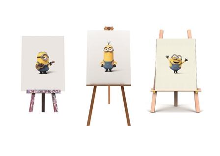 Minions in Art