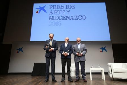 Entrega Premios Arte y Mecenazgo 2016 9 - OS la Caixa
