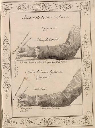 Biblioteca Nacional Las tintas que usó Cervantes
