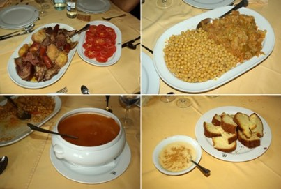 Cocido maragato. Wikiencuentro en Castrillo de los Polvazares