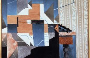 Juan Gris, La guitare sur la table