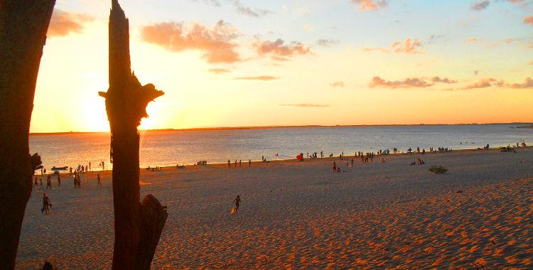 Playas doradas en Polanco, Uruguay