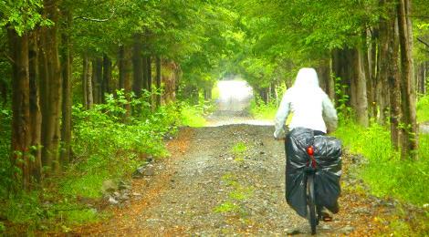 Sur chileno en bicicleta