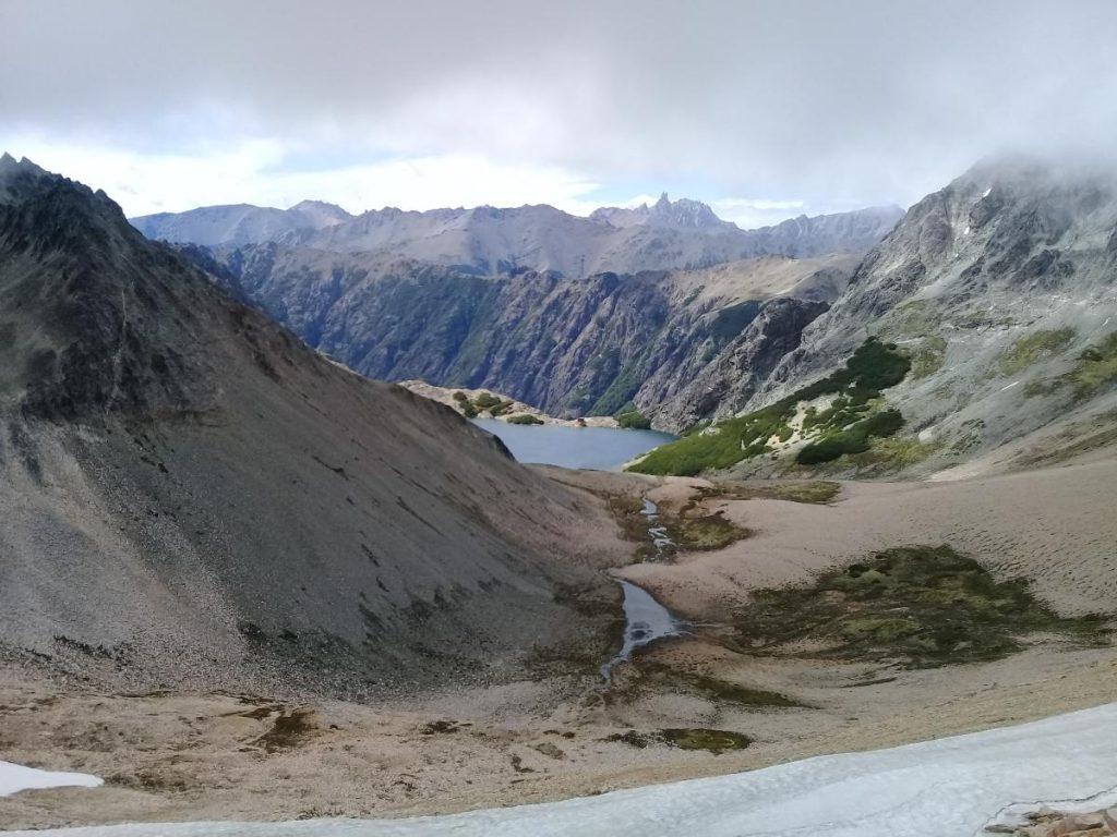 Laguna Negra desde Cerro Bailey Willis