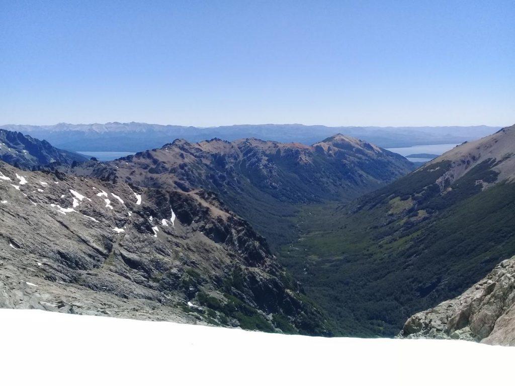Vista al Perito Moreno y Brazo Campanario