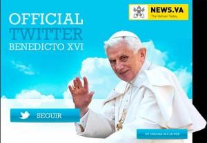 twitter papa1 300x208 Todos los mensajes de Benedicto XVI en Twitter, cuenta ya cancelada