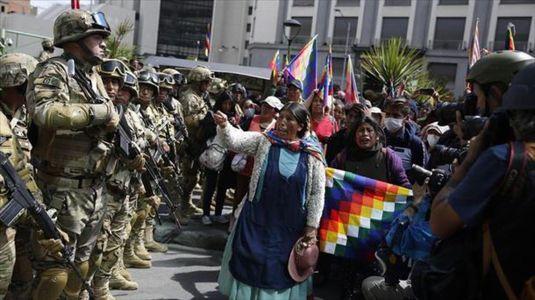 Golpe contrarrevolucionario en Bolivia