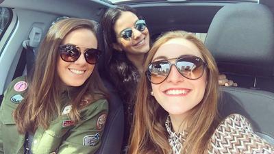Giovanna Spilborghs, Bárbara Santucci e Carolina Leal, alunas da ESPM: criação de um blog de moda que deve abrigar um e-commerce em breve