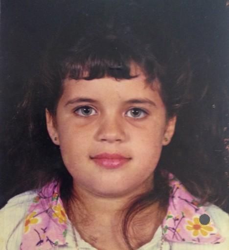 Mayara con 6 años de edad