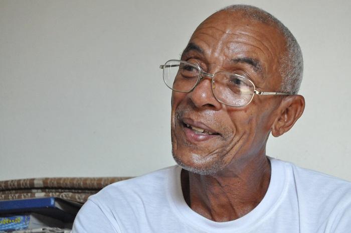 Charles Hill, prófugo del FBI refugiado en La Habana hace más de cuarenta años / Foto: Yuris Nórido