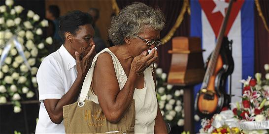 El pueblo de Cuba desfiló en su velada