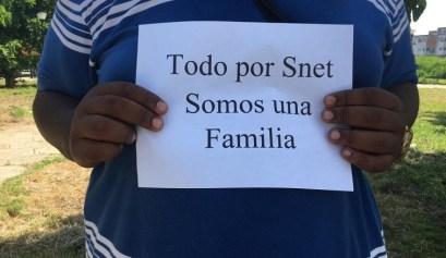 Protesta pacífica contra cierre de SNet. Parque de las Comunicaciones, La Habana. 10 de agosto de 2019/ Todos por SNet. Somos una familia/ Foto: Darío Alejandro Alemán.