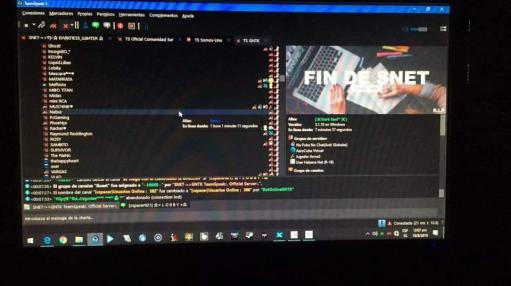 Team Speak. SNet/ Captura de pantalla.