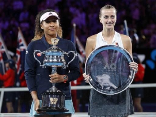 Naomi Osaka y Petra Kvitova. Abierto de Australia