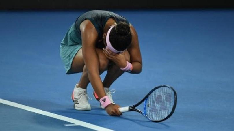 Naomi Osaka. Abierto de Australia/ Foto: AAP
